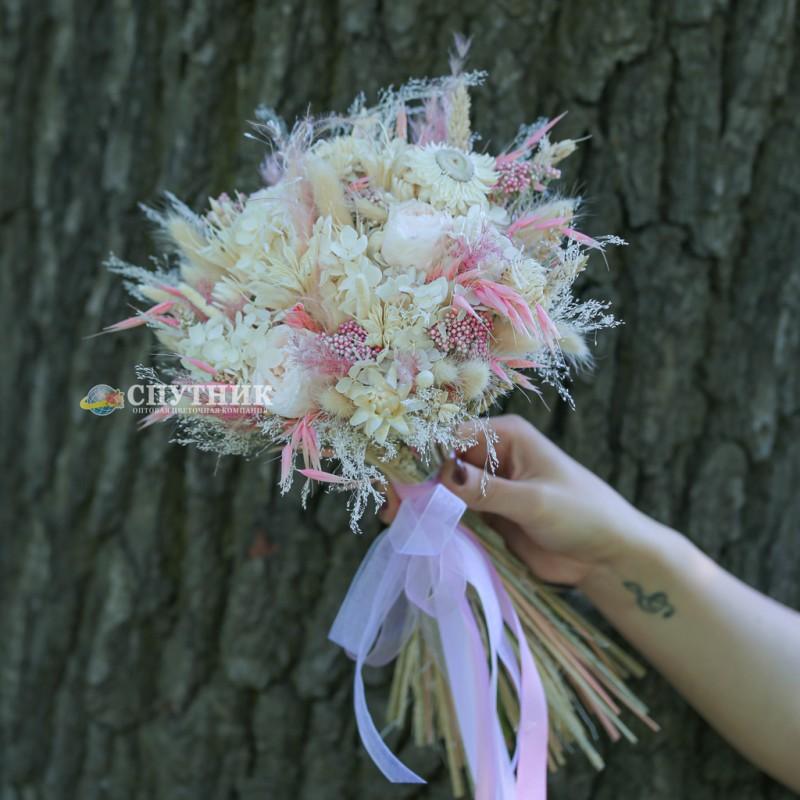 Купить букет из сухоцветов в СПб