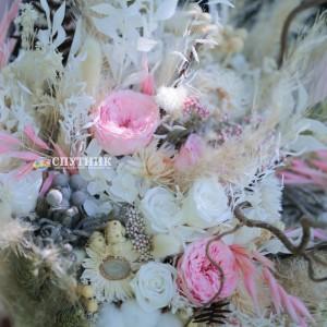 """Букет из сухоцветов """"Тайна"""" / 9'800 руб"""