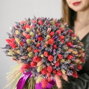 """Букет из сухоцветов """"Астрид"""" / 5'500 руб"""