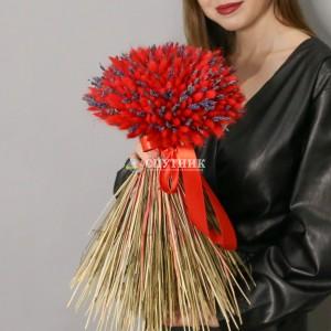 """Букет из сухоцветов """"Бургундия"""" /4'500 руб"""