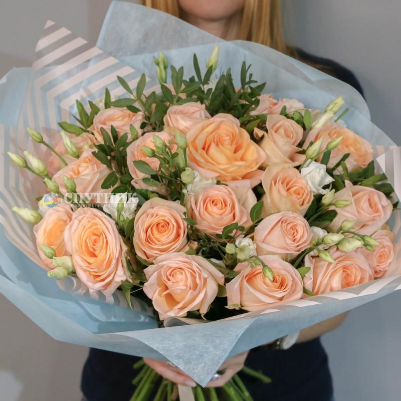 Купить букет роз Тиффани в СПб недорого