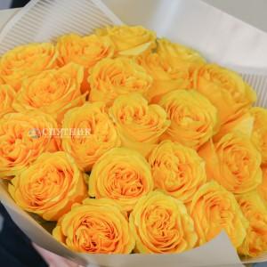 Букет 25 роз Кантри Сан / 2'600 руб