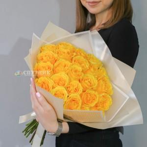 Букет 23 розы Кантри Сан / 2'500 РУБ