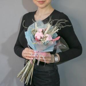 Корпоративный букет из сухоцветов / 1'400 руб