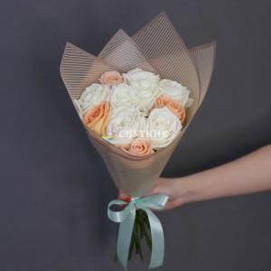 "Букет роз ""Персик"" /1'780 руб"