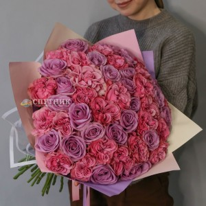 "Букет 51 роза ""Стелла"" /5'500 руб"