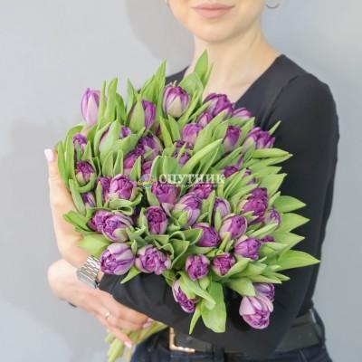 Букет тюльпанов цвета в ассортименте
