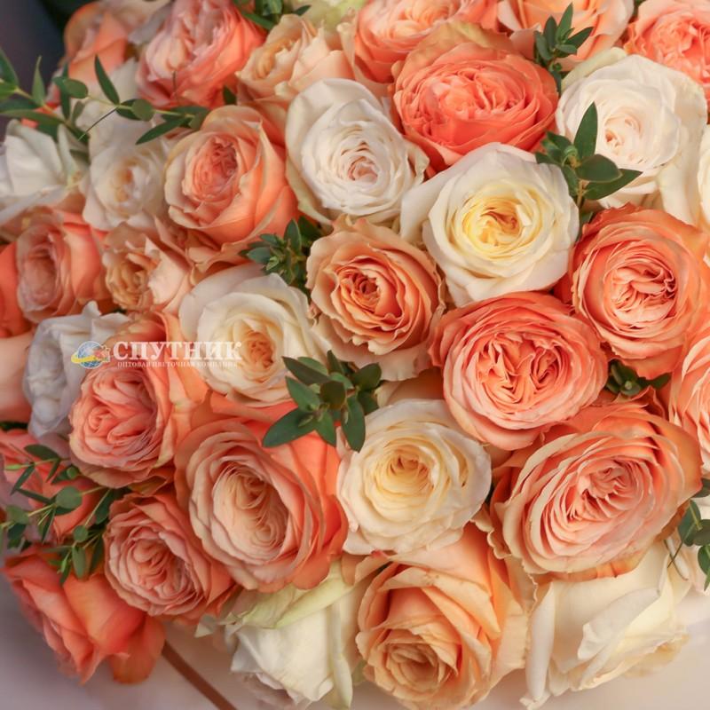 Купить огромный букет роз с доставкой спб