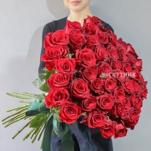 Хит! Букет 51 роза Эксплорер / 8'500 руб