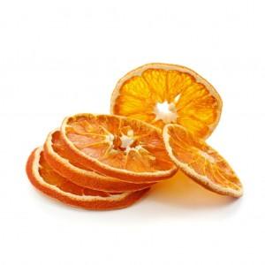 Сушеный апельсин для декора